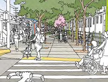 A 10x10 Initiative proposal for an active transportation rail-to-river corridor running from the Crenshaw District to Maywood in Supervisorial District 2.